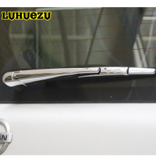 Chrome Rear Window Screen Wiper Decoration Styling Cover For Nissan Patrol Y62 Armada Accessories 2013-2017 Model(China)