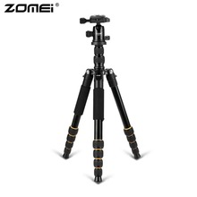 Zomei Z688 Portable Camera Tripod Monopod With Ball Head Quick-Release Plate Carrying Case For DSLR SLR Camera