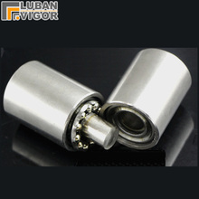 Stainless steel cylindrical hinges,With bearing,Iron door welding Detachable hinge , Diameter 34mm,length 90mm,