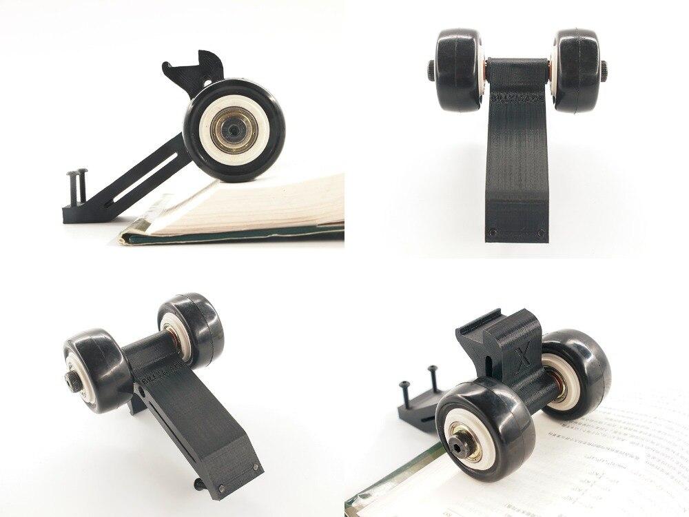 RC parts,3D printed Rise head wheelie bar with 2 wheel for Traxxas X-MAXX XMAXX<br>