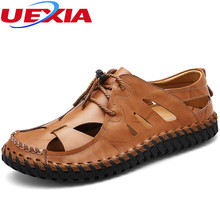 Hole Driving Flats Men Shoes Hollow Casual Leather Handmade Breathable Soft Comfortable Made Moccasins Designer Loafers Hombre(China)