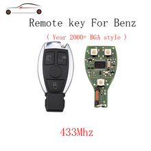 GORBIN 3Buttons 433Mhz Smart Remote Key Mercedes Benz year 2000+NEC&BGA style Mercedes-Benz IYZDC07 Original key