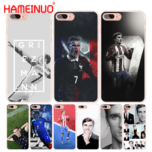 HAMEINUO Antoine Griezmann Soccer Star cell phone Cover case for iphone 4 4s 5 5s SE 5c 6 6s 7 8 X plus(China)