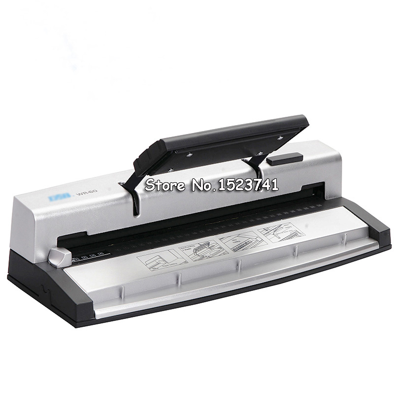 A4 Paper Punch Paper Puncher Furador Binder Punch Wire Binding Machine Paper Cutter Decorative Hole Punch 34/32 Holes