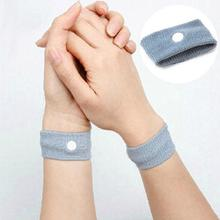 1 Pair Reusable Anti Nausea Wristbands Travel Sickness Wrist Bands Prevention Motion Car Boat Sea Plane Bus