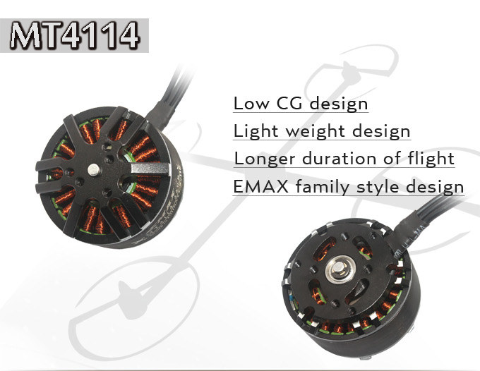 100% Original EMAX MT4114 340KV motor CW / CCW 6S for DIY FPV drone T810 T960 S800 hexacopter / S1000 S1200 Octocopter<br><br>Aliexpress