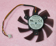 T128015SH 75mm Graphics / Video Card VGA Cooler Fan Replacement 40mm 12V 0.32A 3Wire 3Pin Connector for GIGABYTE GTS450
