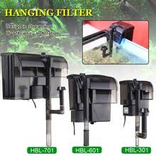 AQUARIUM-FILTER FILTER-PUMP Fish-Turtle Tank Water-Oxygen External-Hanging 5W/8W 3-In-1