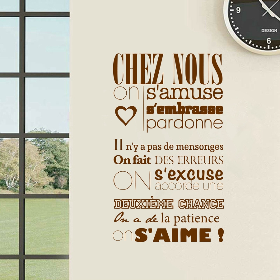 French Wall Art popular decal quote french-buy cheap decal quote french lots from
