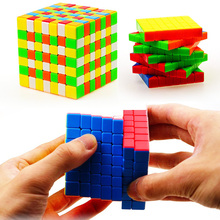 7x7x7 Exfoliate Colourful Speed Magic Cube Puzzle Cubes Kids Educational Toys For Children Professional cubo magico