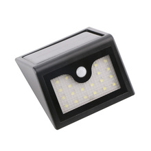 20 LED Solar Light IP64 Waterproof Wide Angle Security Motion Sensor Wall Light PIR Motion Activated Wall Lamp for Patio Garden