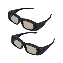 Top Deals 2 X Universal 3D Active Shutter Glasses (Bluetooth) For Sony/Panasonic/Sharp/Toshiba/Mitsubishi/Samsung 3DTV