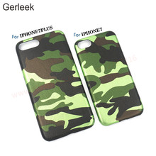Hot sale camouflage camo pu phone case for iphone 7,latest Mobile phone accessories For iphone 7 8 8plus Case 4.7 5.5 inch