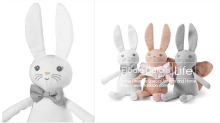 elodie details Hand puppet toy Plush toys Arrival Mini Cute Soft Bunny Sleep Rabbit Appease Doll Lovely Baby Plush Toys Kids