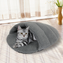 Free Shipping Floor Price Cat Bed Pet Mat For Dogs Warm Cotton Cats House For Pets Puppy Kitten House Pet Furnature Applicable(China)