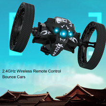 Buy Children Radio-Controlled Toys Boy 2.4GHz Wireless Remote Control Jumping RC Toy Bounce Cars Robot Toys Flexible Wheels for $31.98 in AliExpress store