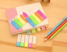 New Rainbow Style Sticky Notes Memo Notebook Bookmark Diary Decor Stickers Office School Stationery Supplies Children Gift Toys(China)