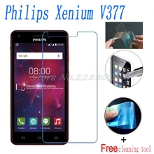 2PCS Ultrathin Nano-proof membrane not glass Screen Protector for Philips Xenium W6618 V377 W3508 W3568 W832 V337 V526 S309(China)