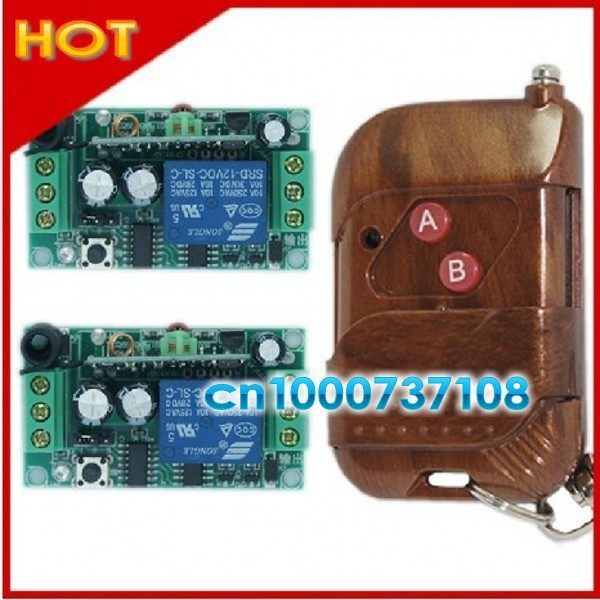 DC12V 1CH 1CH wireless controller receivers for automation home garage door remote control system<br><br>Aliexpress