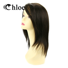 Chloe Peruvian Virgin Hair Straight Lace Frontal Wigs Density 130% 100% Human Hair Wigs Style FT-1220 Free Shipping(China)