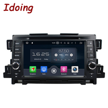 Idoing 2Din Steering Wheel Android6.0/7.1 Fit Mazda CX 5 Car DVD Player 8Core 2G+32G GPS Navigation Touch Screen Video WiFi OBD2(China)