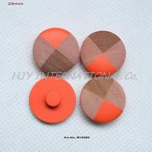 (50pcs/lot ) Wooden Shank Buttons Hat Sweater Sewing Buttons Bulk 1 inches-BY0292B