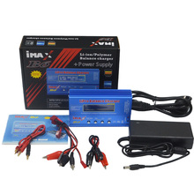 iMAX B6 80W with AC Adapter 15V 6A Power Supply RC Lipo Battery Balance Charger Discharger 50W B6 & 12V 5A adapter Optional