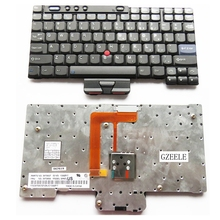 NEW Keyboard for Lenovo FOR IBM X40 X41 X41T X40T US laptop keyboard(China)