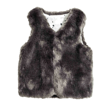 Baby Girl Winter Clothes Faux Fur Vest Kids Coats Warm Waistcoat kids Sleeveless Jacket Outfit Child Clothing Outerwear