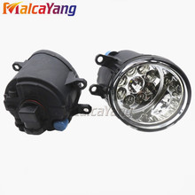 car-styling Car Styling LED Fog Lamps Refit Right + Left For Toyota Camry Corolla Yaris Lexus GS350 GS450h LX570 LX570 RX450h