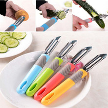Fruit Slices Potatoes Apple Fish Scales Peeling Nife Multifunctional Peeler High Quality(China)