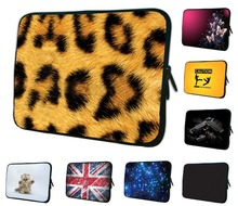 "Leopard Tablet Sleeve Case Bag Pouch Cover Funda Tablet 7 Pocketbook Case For iPad Mini 2 3 7"" 8"" Xiaomi Mi Pad Google Nexus 7(China)"