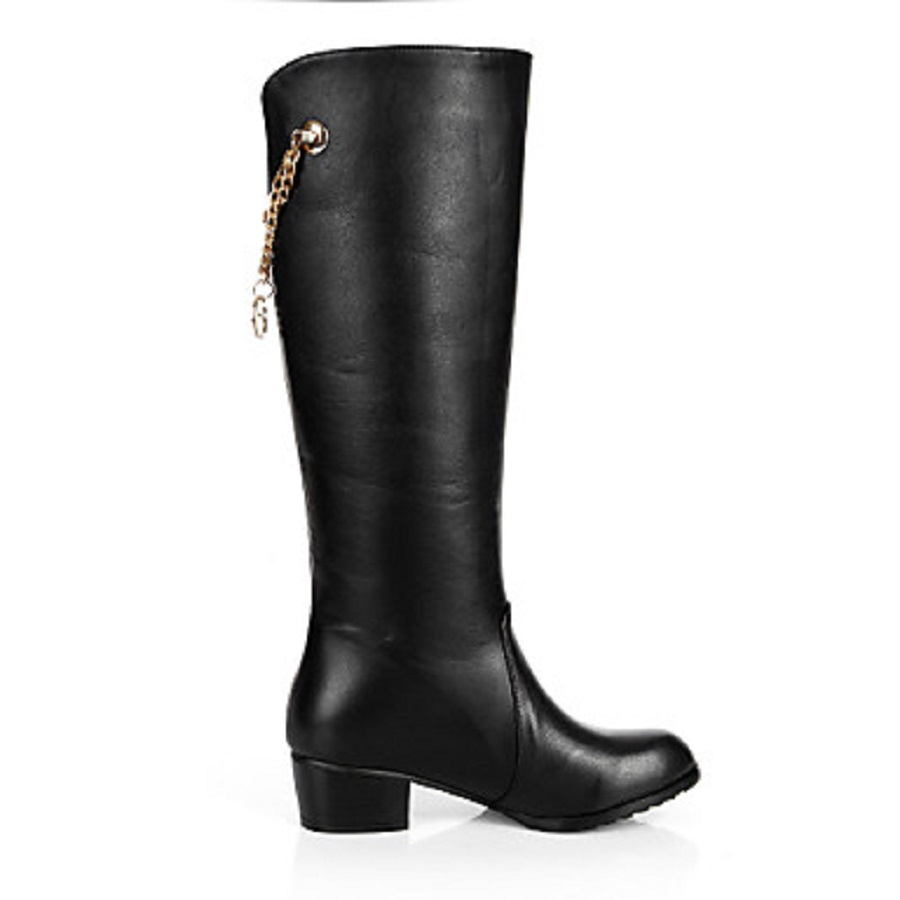 BC Women Black Point Toe Flat Heels Knee High Boots Shoes, plus size 5-14, winter boots shoes for woman<br><br>Aliexpress