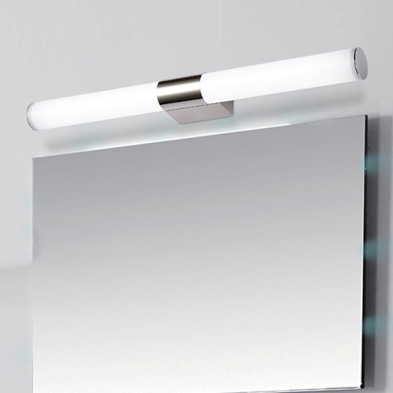 100cm super long tube shape mirror light in bathroom 85-265V 24W led acrylic bedroom wall sconce lamp luminaria de parede<br>