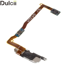 Dulcii Mobile Phone Parts for Galaxy Alpha SM-G850 OEM Home Button with Flex Cable Repair Part for Samsung Galaxy Alpha SM-G850F