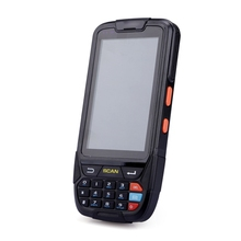 Free Shipping Portable Android PDA 2D Mobile Data Collector Terminal With Charger 4'' Screen 16G ROM/Wifi/Bluetooth/NFC Reader(China)
