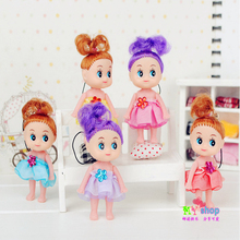 8CM clown princess skirt confused doll pendant wholesale toy doll wedding gifts 1pcs random send