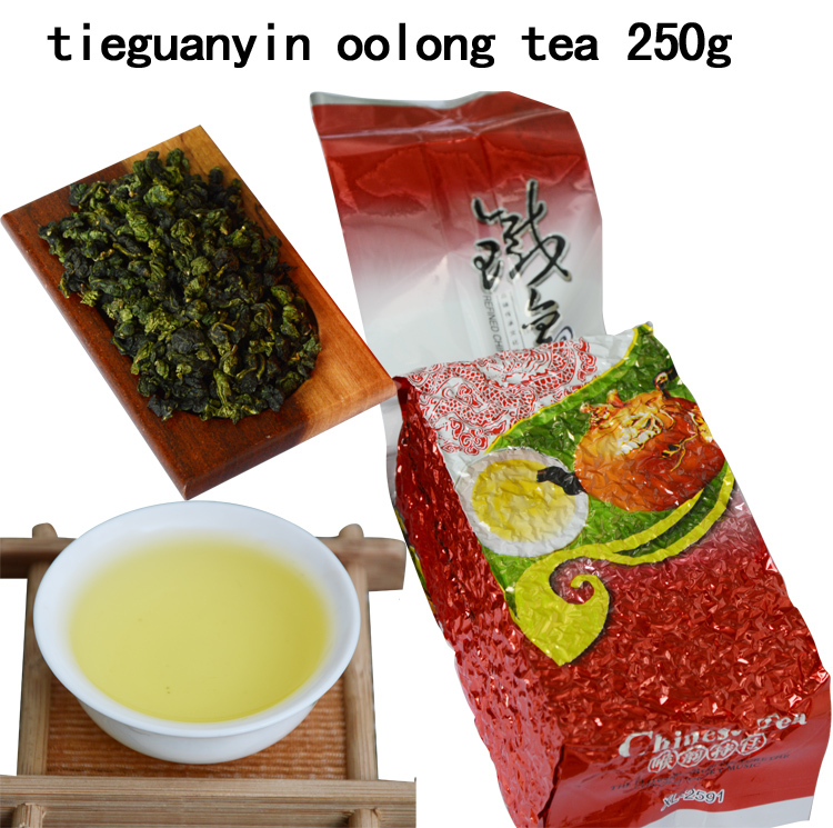 250g Tie Guan Yin tea,Fragrance Oolong,Wu-Long,china tea 250g Top grade Chinese Oolong tea new organic natural health(China (Mainland))