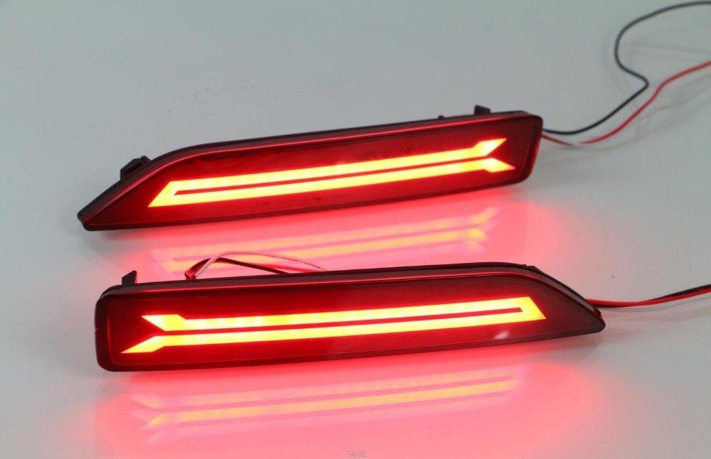eOsuns LED running light + brake light, rear bumper light for honda crv 2007-9, city 2012-4, brv 2015-6, MOBILIO 2016-7, led bar<br><br>Aliexpress