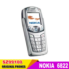 6822 Original Unlocked Nokia 6822 QWERTY mobile phone Bluetooth Vedio JAVA Cheap Cell phone free shipping   Refurbished