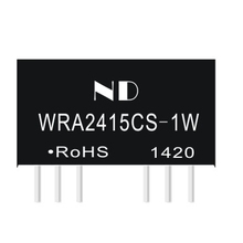 1pcs dc dc converters 24V to dual 15V 1w regulated isolated dc-dc power module quality goods(China)