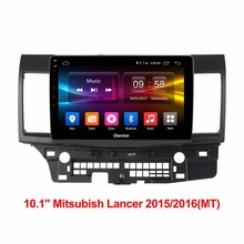 Android 6.0 Octa 8 Core 2GB RAM+32GB ROM Car DVD Player For Mitsubishi LANCER 2015/2016 GPS Navigation Radio Stereo 4G SIM WiFi(China)