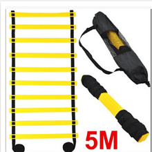 Agility Ladder Soccer Training Equipment 5 M 9 Rung Athletics Football Ladder Rope-ladder(China)