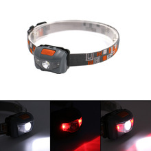 R3 + 2LED 800 Lumens 4 Modes Mini Headlamp Outdoor Headlight Waterproof Head Lamp Lantern For Hunting,Use AAA Battery(China)