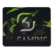 New Brand SK Style Gaming Rubber Mousepad PC Computer Laptop Keyboard Optical Mousemat For Gamer Speed Mice Mats