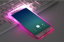 Soft TPU LED Flash Light Up Case Remind Incoming Call Cover For Samsung Galaxy J1 J3 J5 J7 A3 A5 A7 2016 2017 Note 4 5 S6 S7 S8