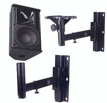 1Piece Heavy Duty Speaker Bracket Mount Surround Holder Loading 30kgs 66lbs