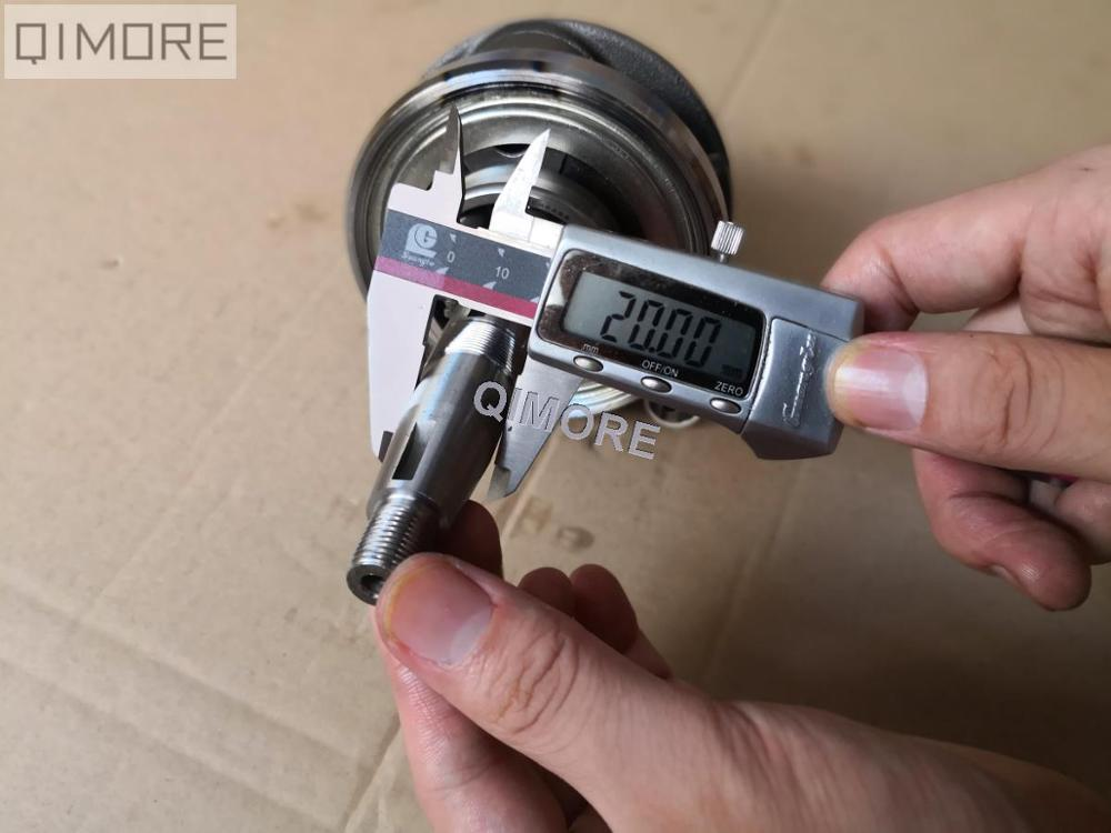 GY6 3mm stroker crankshaft 11