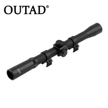 Buy OUTAD 1Pcs Professional Mounts Hunting 4*20mm Telescopic Scope Sights Sniper Mounts Adjustable Hunting Scopes 22 Caliber for $4.76 in AliExpress store