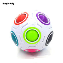 Rainbow Magic cube ball fidget cube Toys For Autism and ADHD Anti fidget Toys